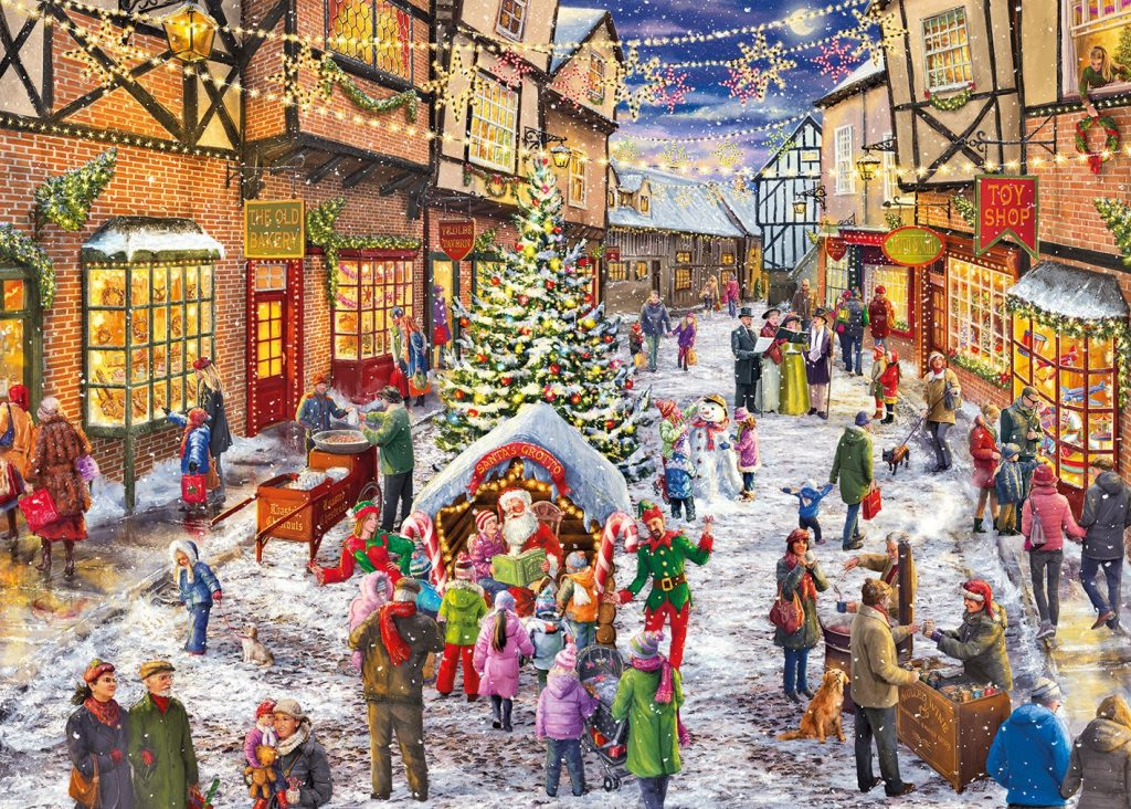 christmas 2016 limited edition 1000 piece jigsaw puzzle
